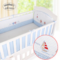 Mother's Choice cotton Crib bumper baby bed around protection bumper washable with cartoon pattern for girls boys MCC601