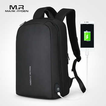 Mark Ryden Men Backpack Multifunction USB Recharging Can Fit 15.6inch Laptop Casual Backpacks For Male - DISCOUNT ITEM  50% OFF All Category