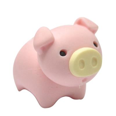 Freeshipping So Lovely Pig Eraser Popular Among Children The Best School Eraser For Students Animal Eraser  15 Pieces Per Lot