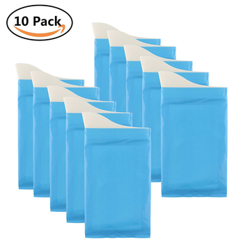 10Pcs Urine Bags Super Absorbent Sealable Emergency Bag for Traffic Jam TraveL Vomit absorbent Disposable 600ml - discount item  30% OFF Bathroom Fixture