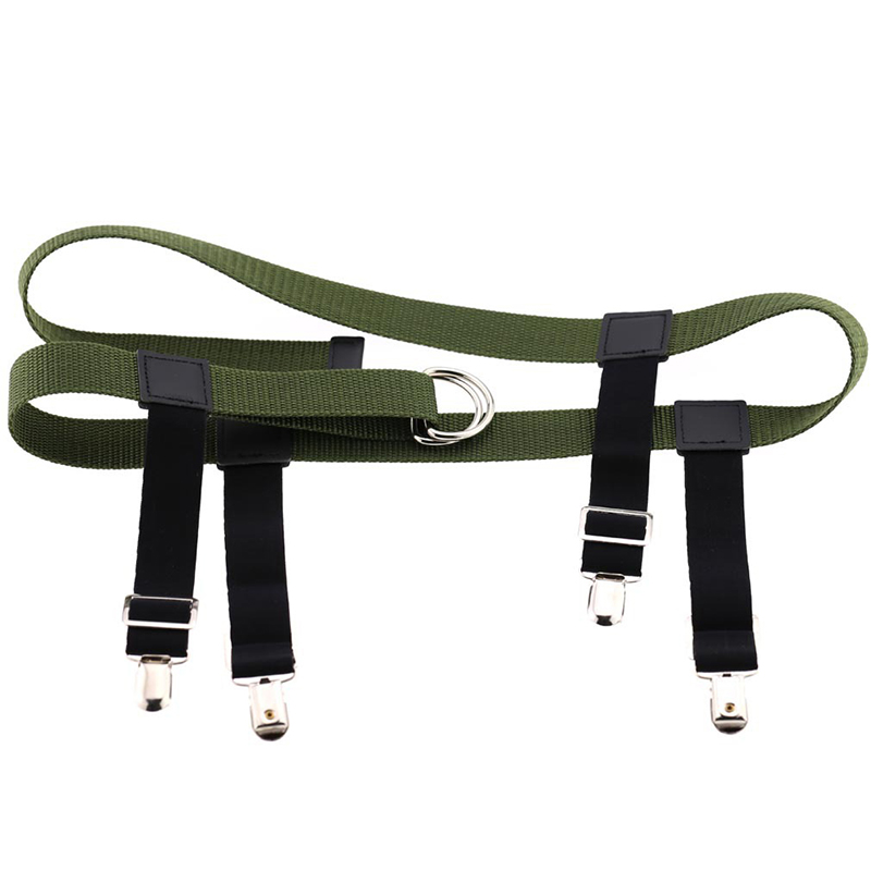 Fashion Personality Exaggerated Men And Women Sexy Binding Products Sling Garter Street Smashed Bar Elastic Belt Pants Clip
