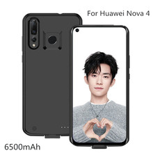 6500mAh Backup Power Bank  Battery Charger Case For Huawei Nova 4 Power Case Pack Back Clip Battery Charging Cover Cases