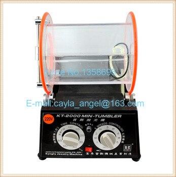 цена на Hot Sale KT-2000 Jewelry Drum Polishing Machine,Jewelry Polishing Drum,Rock Polishing Tumbler