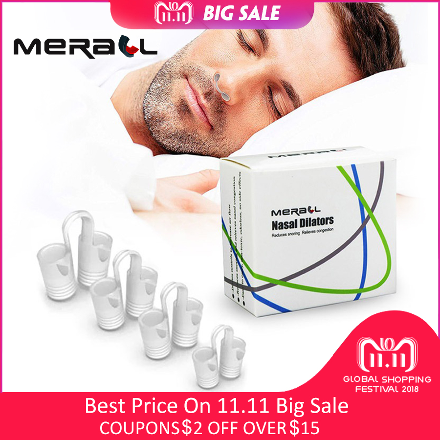 Anti Snoring Device For Women Men Nasal Dilator Stop Snoring Soft Comfortable Silicone Breath Sleep Aid Clip Snore Stopper Boxed mayitr silicone effective anti snoring nose vents breathe easy sleep aid nasal dilator cones