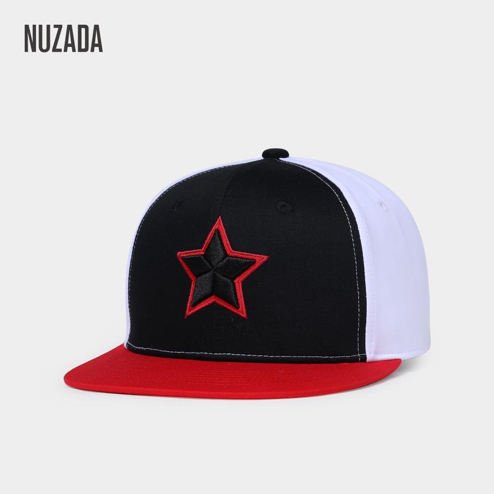 NUZADA Hip Hop Cap Men Women Couple Embroidery High Quality Iinternal Double Layer Spring Summer Caps