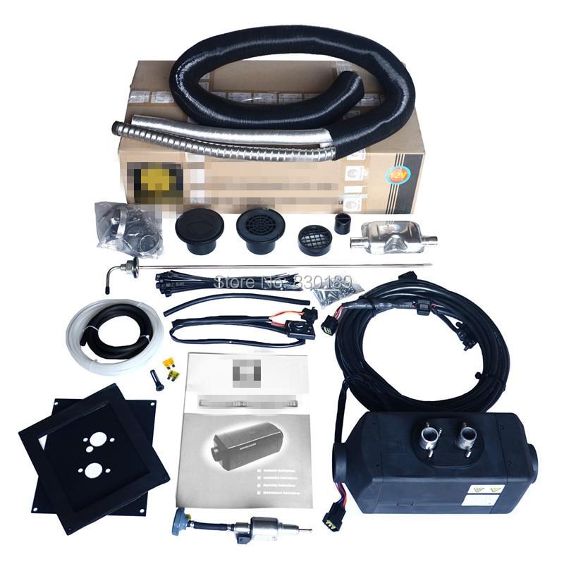 5.5 KW 12 vzduchový ohřívač vzduchu pro dieselový člun Lodní - Elektronika Automobilů