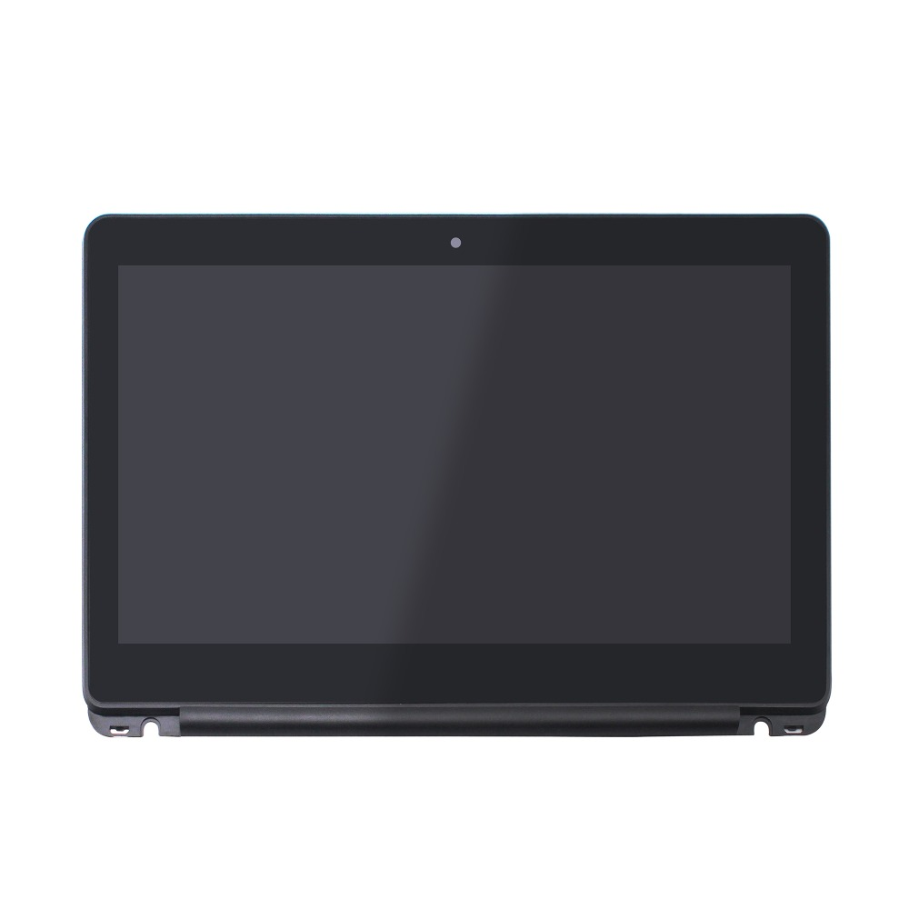 11.6 inch HD LED LCD Display Touch Screen Digitizer Assembly + BLACK Bezel For HP Chromebook 11-v 11-v000 11-v011dx Series