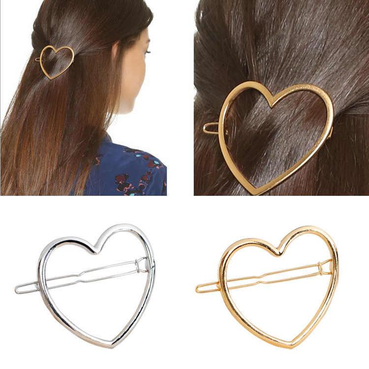 1 Pcs di Nuovo modo di vendita delle donne di usura oro e d'argento del metallo del triangolo anello accessori della forcella, accessori per le belle ragazze che