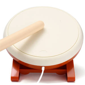 Drum-Sticks-Set Console Gaming-Accessories Video-Game Remote-Controller Taiko Wii Nintendo
