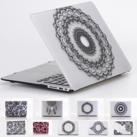 Floral Lace Laptop Case For For Apple macbook Air Pro Retina 11 12 13 15 For Mac book 13.3 inch with Touch Bar +Keyboard Cover