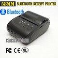 58 мм Мини Беспроводная Связь Bluetooth для Android Портативный Мобильный Тепловая Чековый Принтер USB + последовательный порт Для Окон Andriod