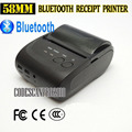 58mm Mini Wireless Bluetooth Android Portable Mobile Thermal Receipt Printer USB+serial port For Windows Andriod