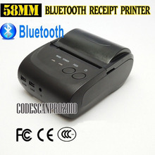 58mm Mini Wireless Bluetooth Android Portable Mobile Thermal Receipt Printer USB+serial port For Windows IOS Android