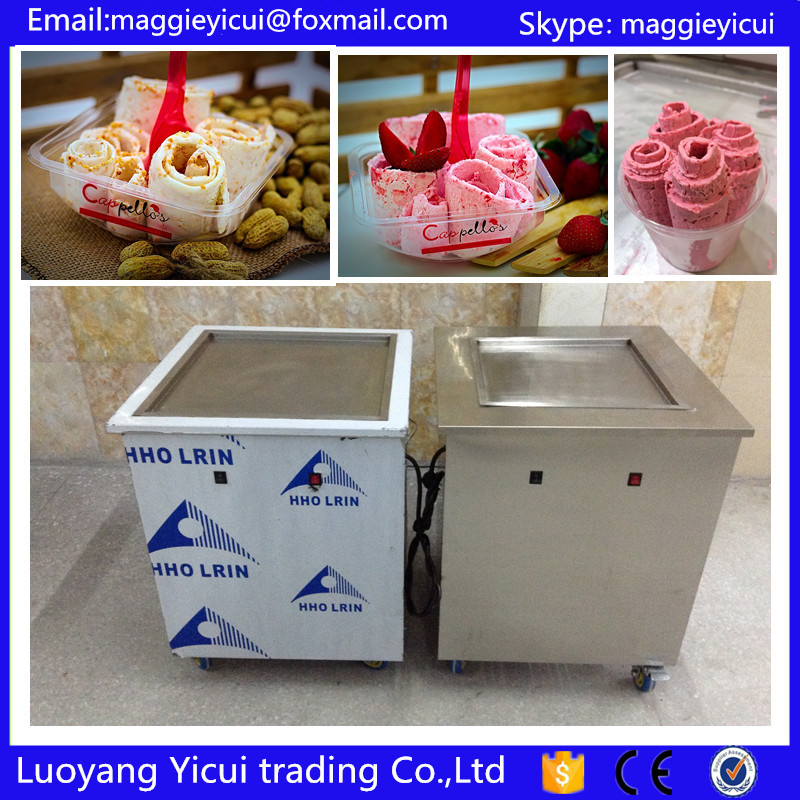 Professional Supplier Single Pan Thailand Fry Ice Cream Maker Machine with Lowest Price