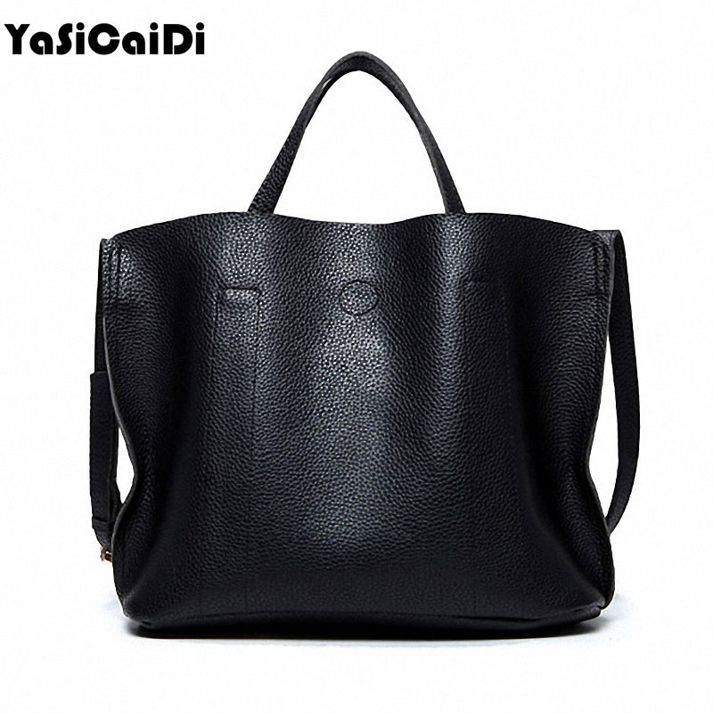 YASICAIDI High Quality PU Leather Women Handbags Female Solid Tote Bag With Casual Messenger Bag Famous Designers Women Bags Sac  olgitum new 2017 famous women pu leather handbags women popular bags high quality women s messenger bags pouch bag tote hb064