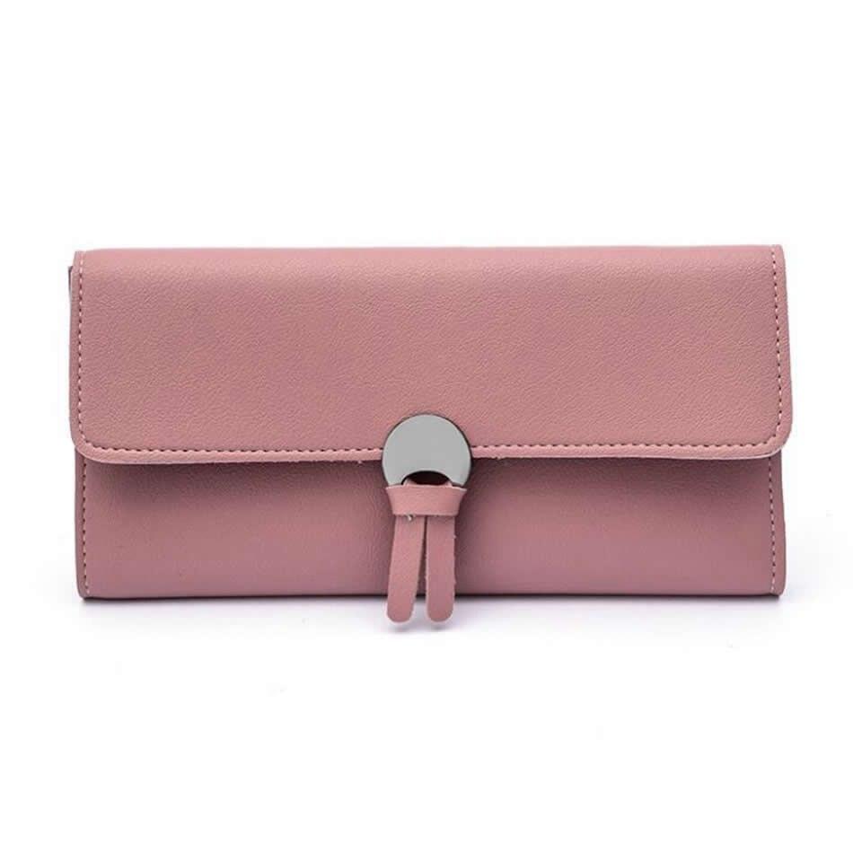 New Arrive Brand Design Women Purse Long Rabbit Wallet Female Handy Leather Wallet Carteras Coin Purse Card Holder