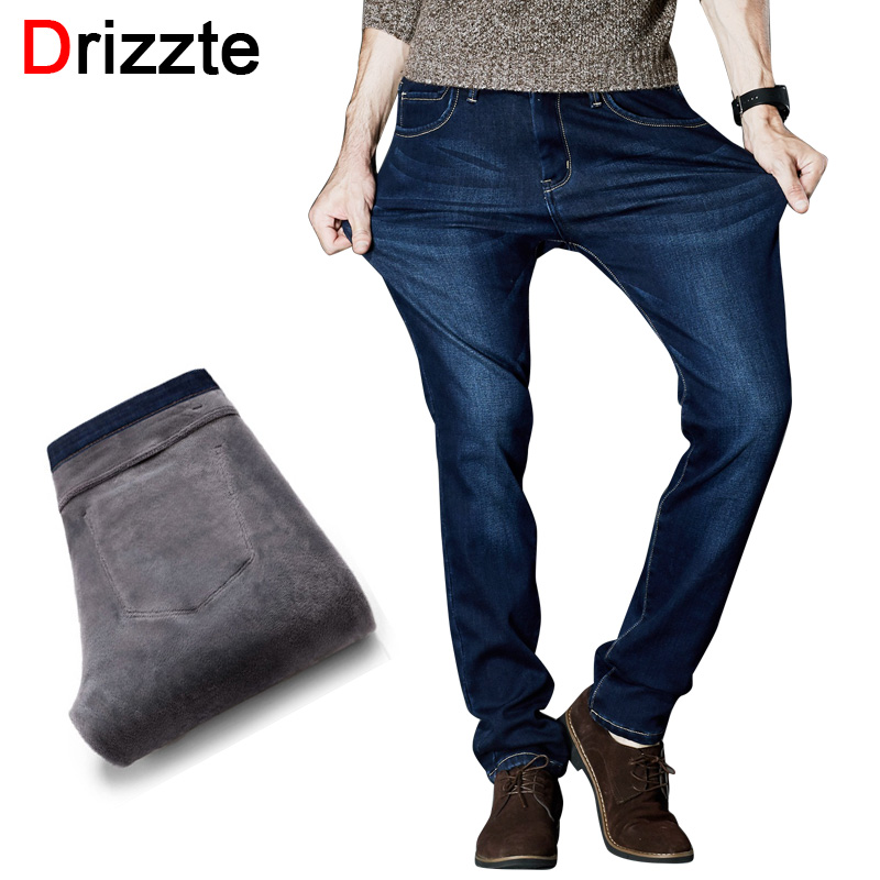 Fleece Lined Jeans Mens