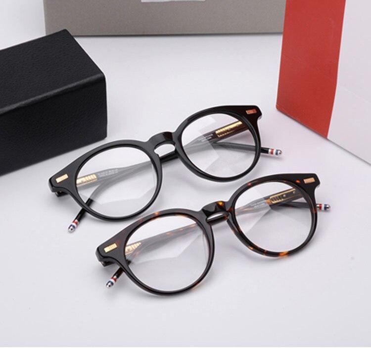 2018 New York marque lunettes cadres hommes et femmes TB404 lunettes mode lunettes ordinateur optique montures myopie Prescription