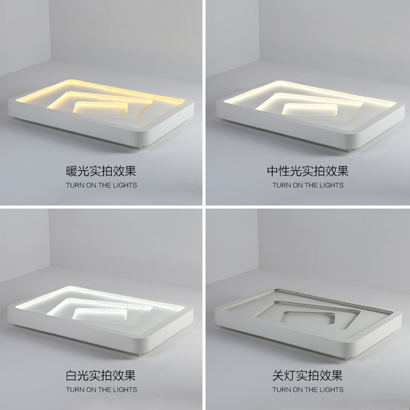 ①Modernas Lámparas de Techo Led Para Dormitorio Sala de estar 95 ...