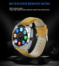 Leifer X3 Smartwatch, Pedometer, Fitness Clock, Camera, SIM Card, Mp3 Player for Android Watch