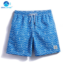 Gailang beach shorts bermuda homens men swimming trunks sweat mesh liner joggers surf praia mens swimwear bathing suits badpak