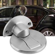 304 Stainless Steel Powerful Magnetic Door Stopper Home Doors Holder Stopper Safety door accessories недорого