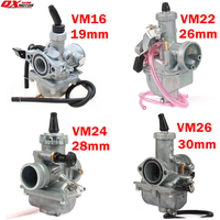 High Performance Mikuni VM16 22 24 26 Carburetor 19mm 26mm 28mm 30mm Carb For 110cc to 250cc Dirt Pit Bike ATV Quad Motorcycle