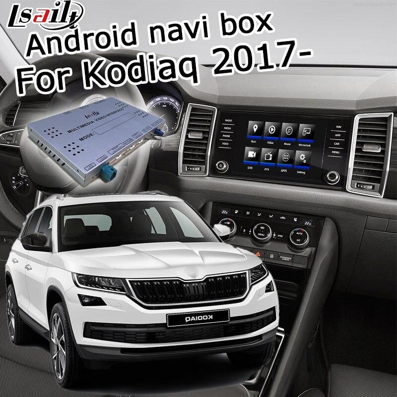 Lsailt Android GPS Navigation Box For Skoda Kodiaq MQB MIB MIB2 System 6.5 8 9.2
