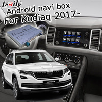 Lsailt Android GPS navigation box for Skoda Kodiaq MQB MIB MIB2 system 6.5 8 9.2 video interface box with youtube