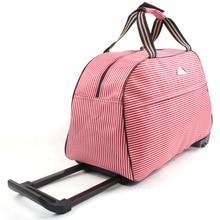 Waterproof Rolling High capacity Luggage Bag Rolling Suitcas