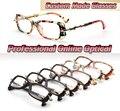 square frame Metal bamboo legs Custom made optical lenses Reading glasses +1 +1.5 +2+2.5 +3 +3.5 +4 +4.5 +5 +5.5 +6