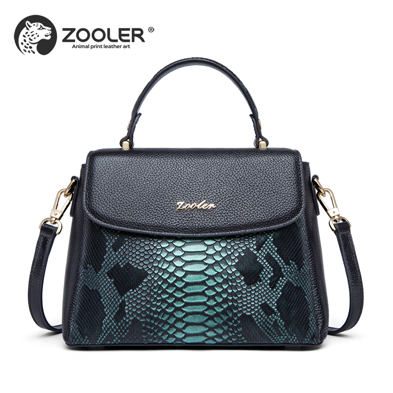 luxury handbags women bags designer 2018 high quality Genuine leather bag ZOOLER #R156 zooler women 100