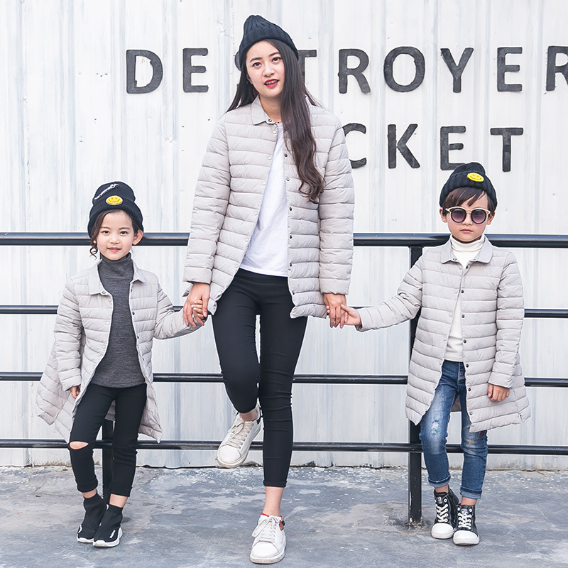 mom son outfits 2017 winter mother and daughter clothes