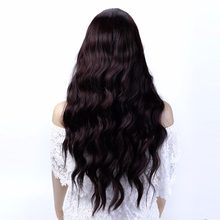 WTB Fluffy Long Wavy Wigs Heat Resistant Synthetic Curly Cosplay Wigs for Women Costume Party Wigs(China)