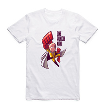 One Punch Man White T-Shirts (6 Models)
