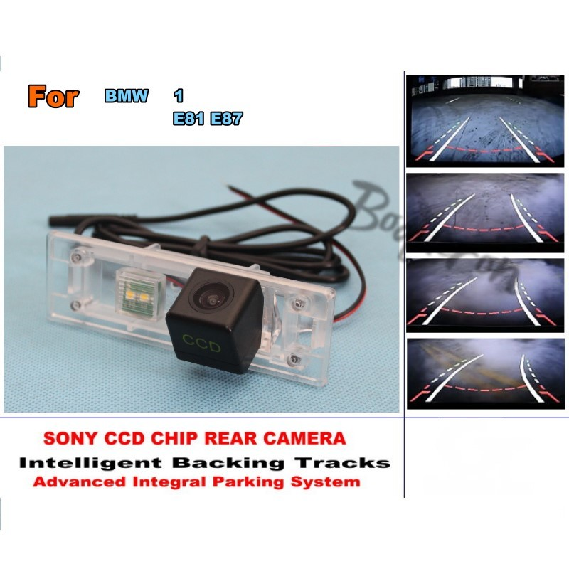 Smart Tracks Chip Camera For BMW 1 Series E81 E87 HD CCD Intelligent Dynamic Parking Car