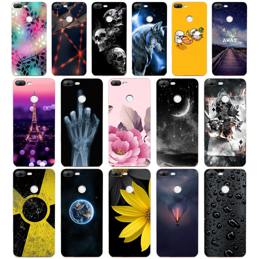 Case-Cover Huawei Honor Soft-Silicone 9-Lite Back-Shell FOR