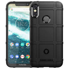 capa For Motorola One Power Shockproof Soft Rubber TPU Phone Case Cover on the for moto one power XT-1942 Moto XT-1941Back