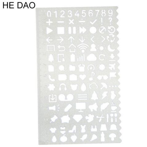 TS AA plastic Electrical templates Students' Physical electrical Drawing ruler Circuit design drawing board