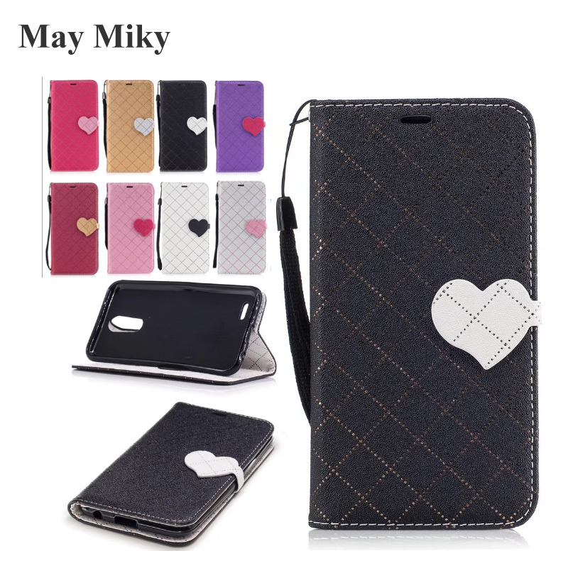 May miky For LG K10 2017 K7 K8 2017 Case Love Hit Color Case PU Leather Fashion Wallet Leather Cell Phone Bag Capinha Capa