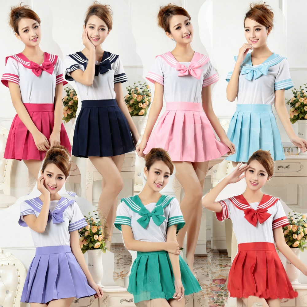 Sailor Moon Cosplay Diaper Lover ABDL Snap Crotch Adult Baby Romper Women Skirt Suit Schoolgirl Uniform Anime Role Play Costume