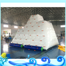 Inflatable Floating Iceberg for Pool Toys & Island adults water climbing mountain
