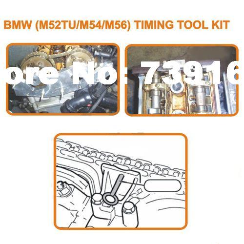 Moteur automatique Double Vanos arbre à cames verrouillage alignement synchronisation réparation Garage trousse à outils pour BMW M52TU 54 56 ST0074 - 3