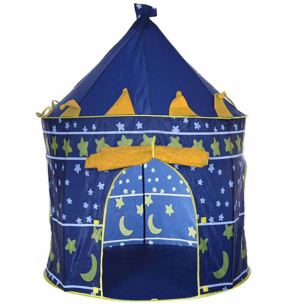 Carpa de juguete portátil Tipi Prince, tienda de campaña plegable para niños pequeños, Cubby Castillo, casa de juego TH0024