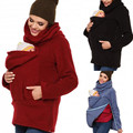 2016 New Hot Baby Back Home with Warm Cloak Wind Blanket Velvet Cape Sweater S-2XXL