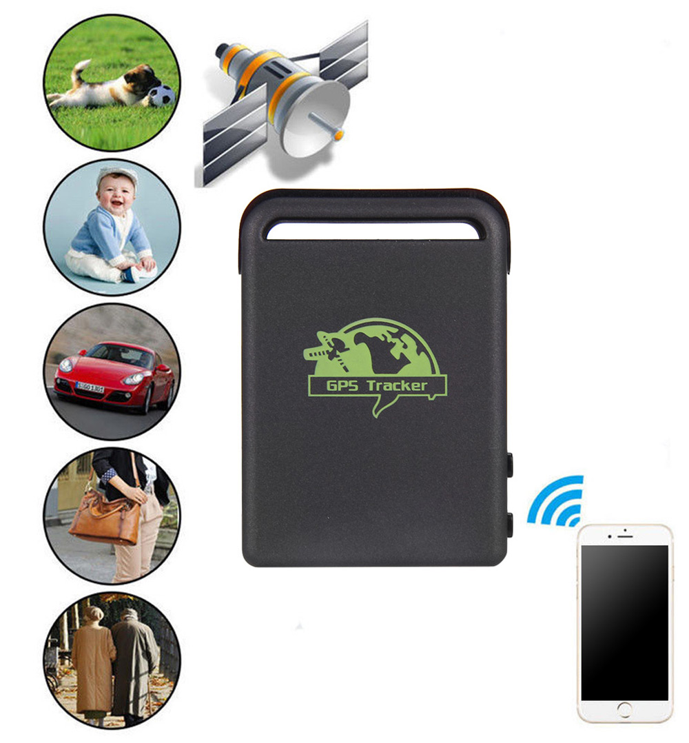 ZEEPIN TK102B GSM Car GPS Tracker GPRS Tracking Locator with SOS Button Function
