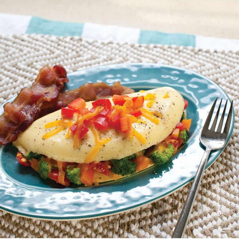 แบบพกพาอุปกรณ์ครัวไมโครเวฟไข่เจียวหม้อหุงกระทะMicroweavableหม้อหุงไข่เจียวไข่ไข่นึ่ง