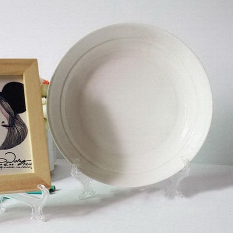 1 Stück Klar Platte Keramik Rahmen Display Rack Teller Schüssel ...