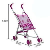 6 Styles Metal trolley Doll Accessories Wear fit for 43cm/17inch Baby Doll