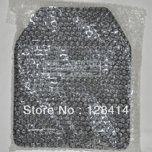 MILITECH 10 x 12 inches NIJ III+ Stand Alone PE Ballistic Hard Body Armor Panel NIJ & MILITECH 10 x 12 inches NIJ III+ Stand Alone PE Ballistic Hard Body ...